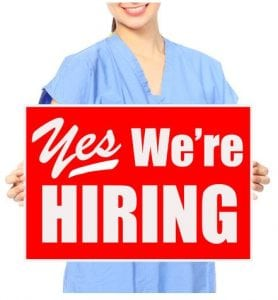 Healthcare companies hiring in February!
